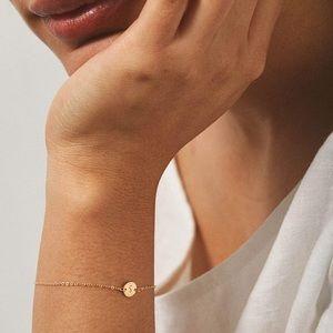 Minimalist Initial Letter Boho Bracelet/Anklet